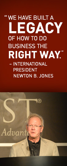 International President, Newton B. Jones