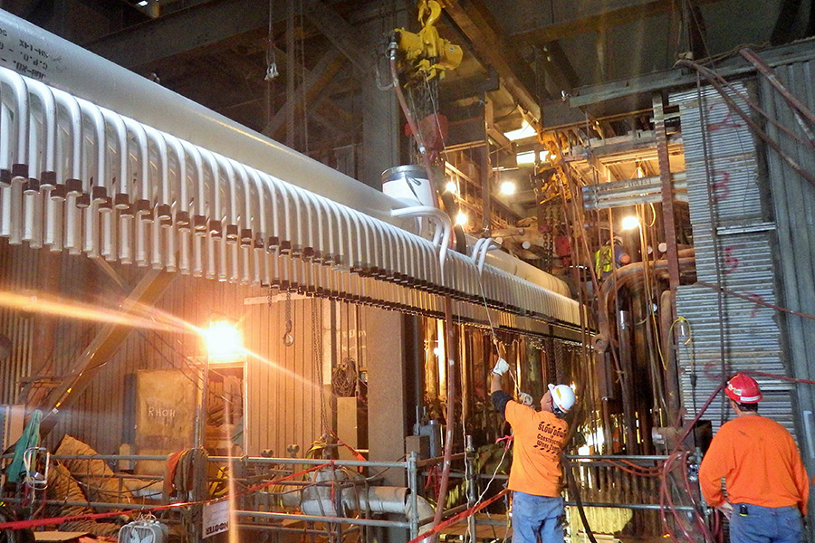 New Header - 30 Tons – Midwest Power House – Spring 2015